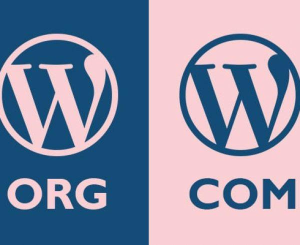 ההבדל בין wordpress.org ל-wordpress.com