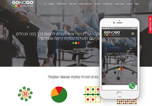 אתר לחברה לתוכניות עסקיות