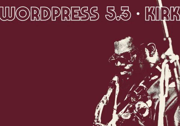 "וורדפרס 5.3 ""Kirk"""